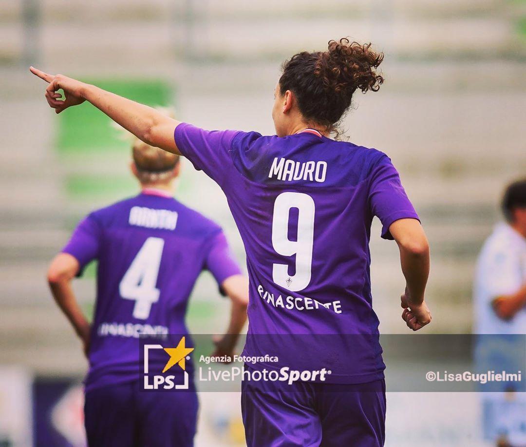 Ilaria Mauro, calciatrice della Fiorentina dopo una lunga esperienza in Germania
