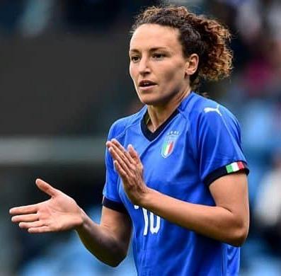 Ilaria Mauro, convocata nella nazionale di calcio nel 2013 per l'europeo e nel 2015 per il mondiale