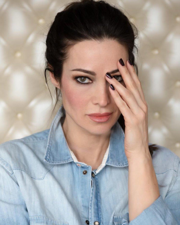 Manuela Arcuri, valletta al festival di Sanremo