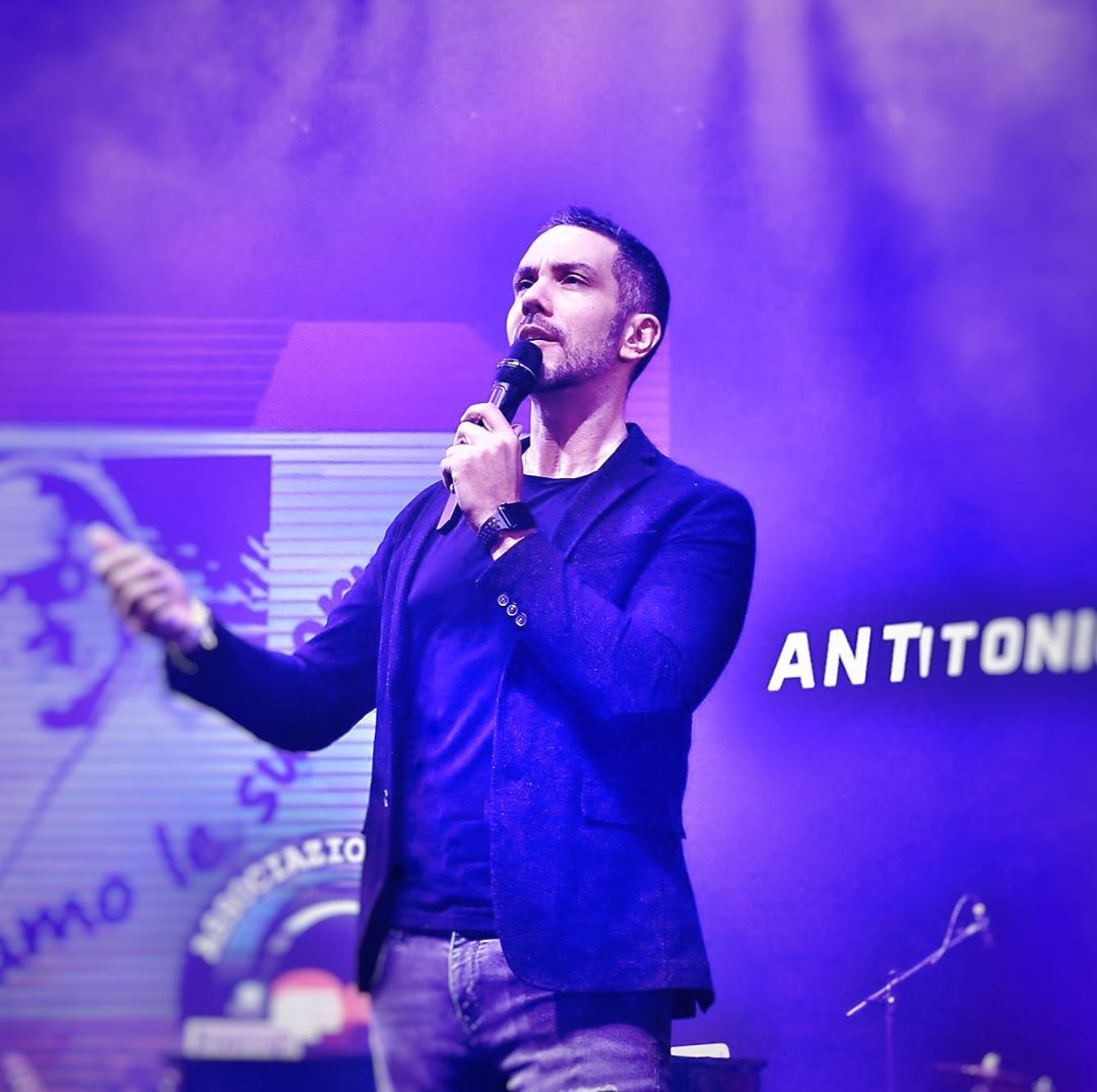 L'imitatore Antonio Mezzancella