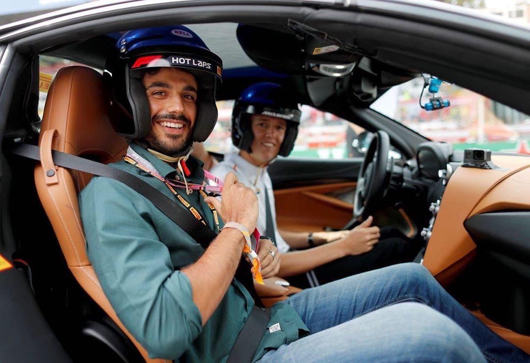 L'attore Gianmarco Saurino e la sua passione per i motori