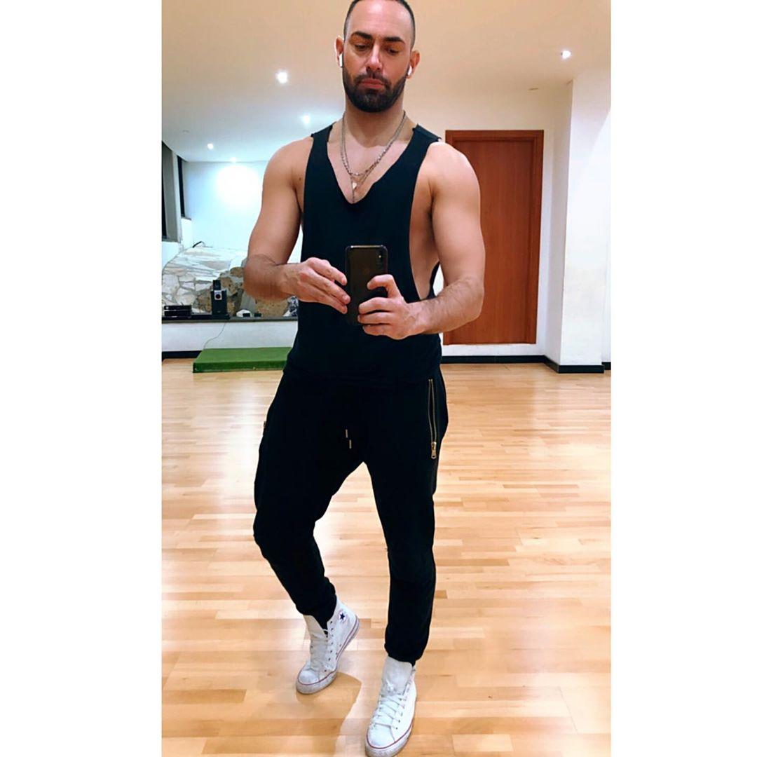 Stefano Oradei, ballerino romano molto versatile