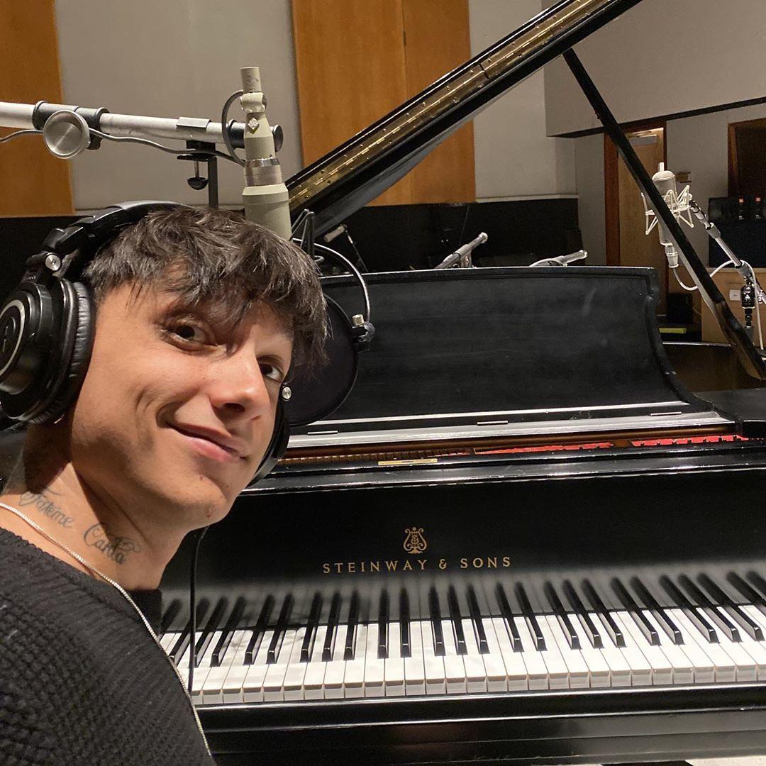 Niccolò Moriconi, alias Ultimo, da sempre amante della musica