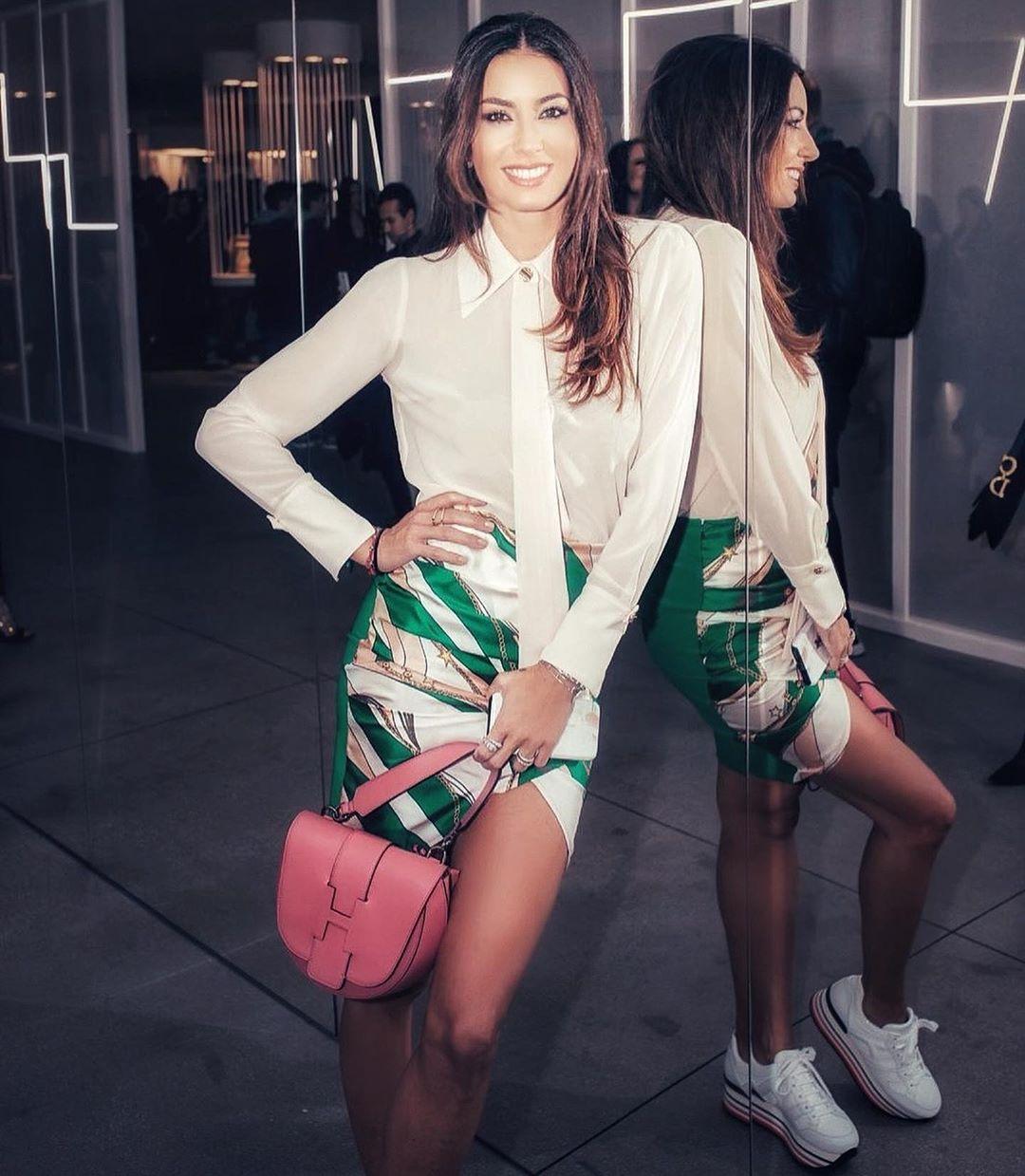La bellissima Elisabetta Gregoraci, modella, attrice, conduttrice TV