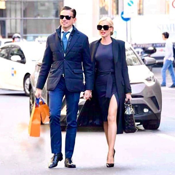 Federica Panicucci e il fidanzato e futuro marito Marco Bacini