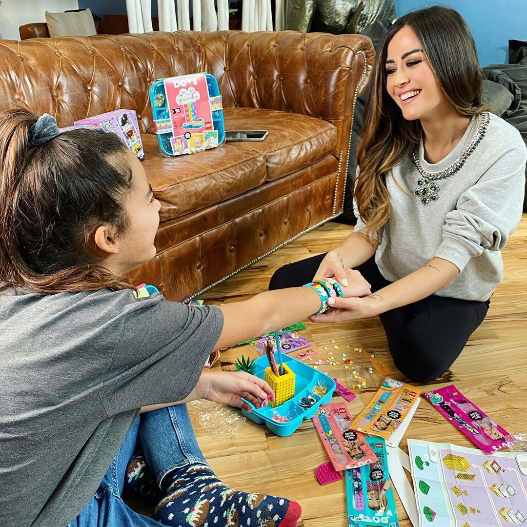 Giorgia Palmas e sua figlia Sofia