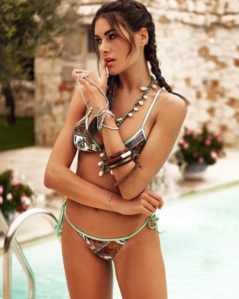 Francesca Novello, celebre modello di lingerie e personaggio tv
