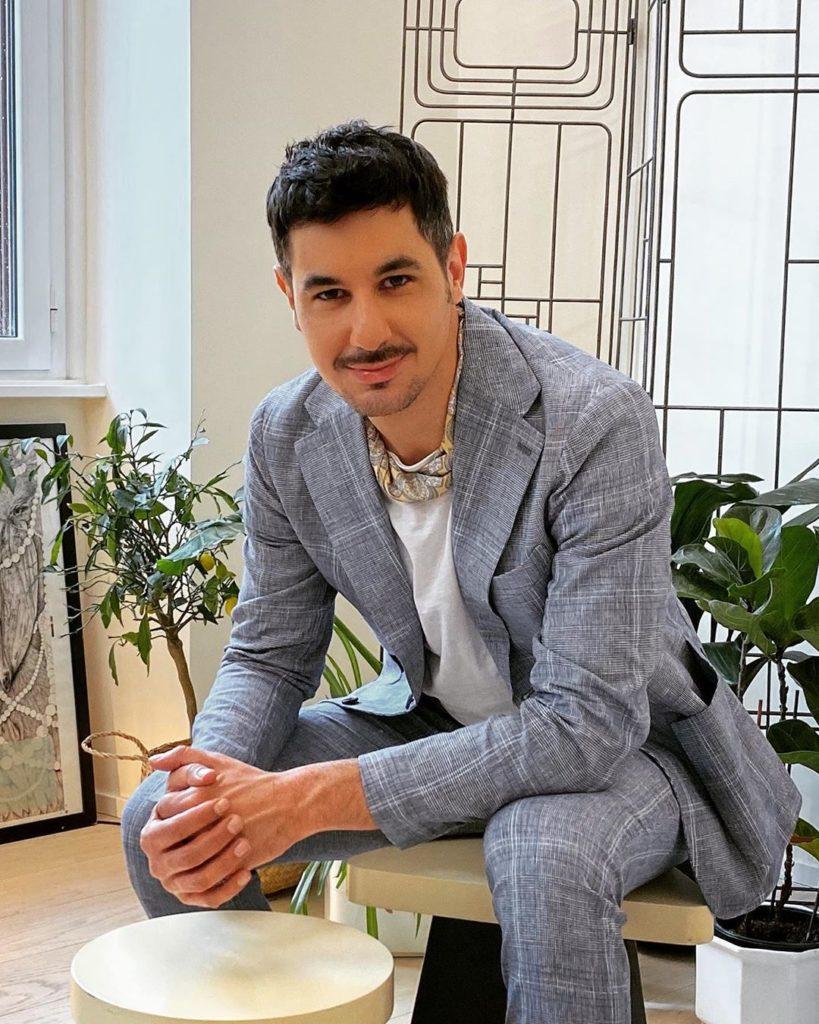 Diego Thomas, è un architetto e un interior design