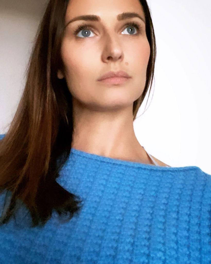Anna Safroncik, modella e attrice figlia d'arte