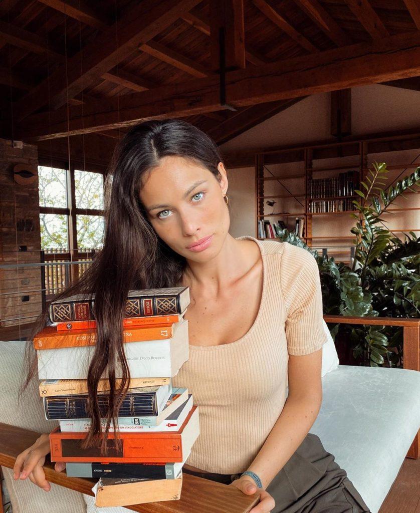 Marica Pellegrinelli, modella italiana di grande notorietà anche internazionale
