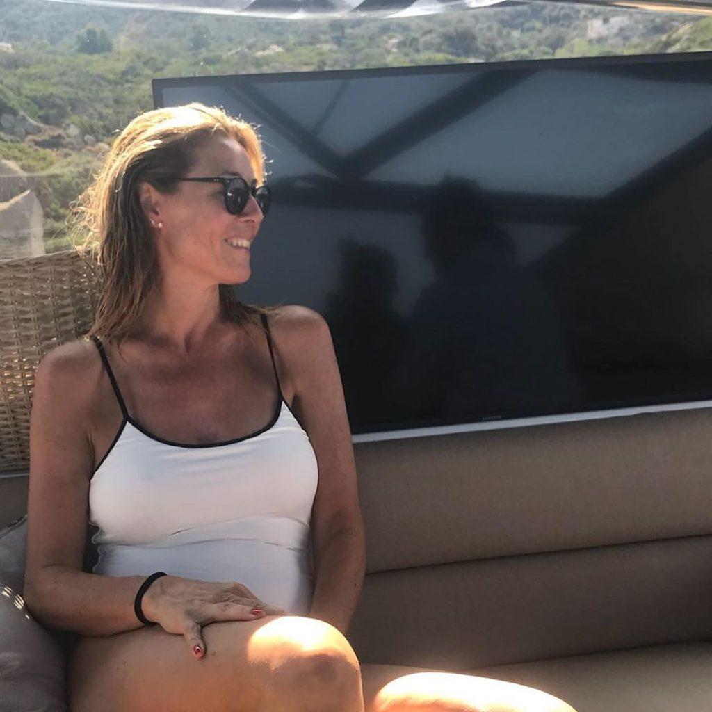 Elisabetta Ferracini su Instagram