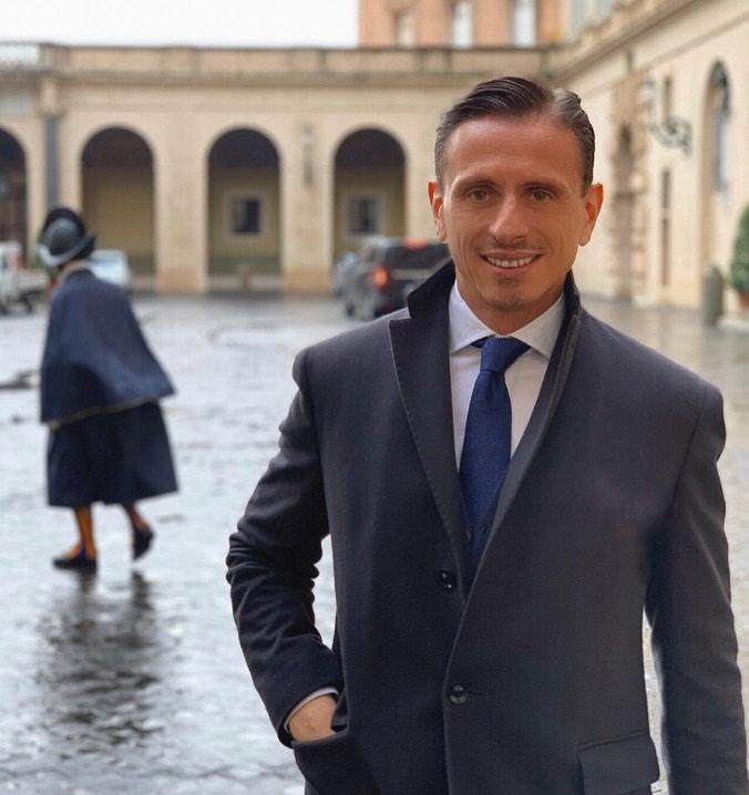 Marco Bacini, imprenditore nel settore moda collabora con molti personaggi famosi