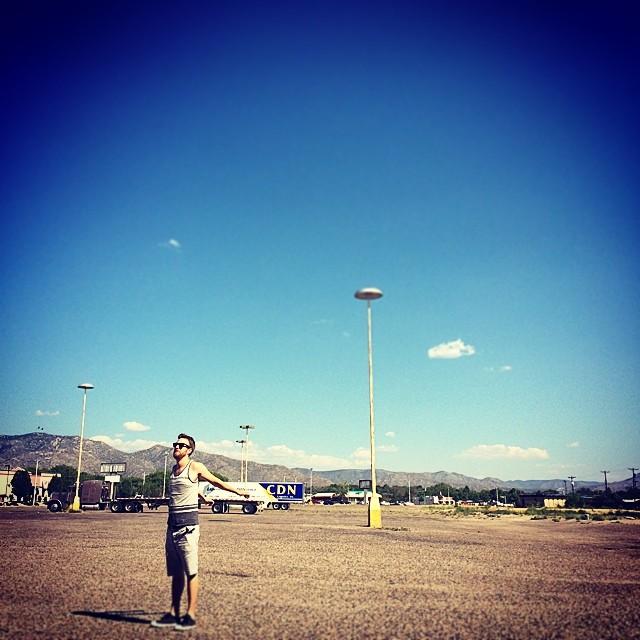 Foto sul profilo Instagram di Emanuele Berardi