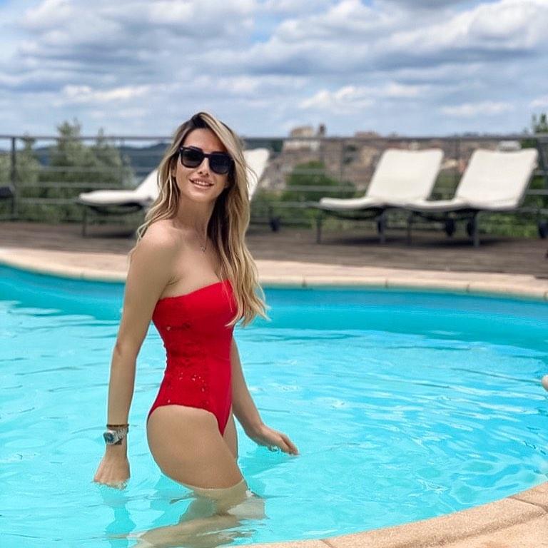 Giorgia Rossi, famosa per essere anche bellissima oltre che un'eccezionale conduttrice