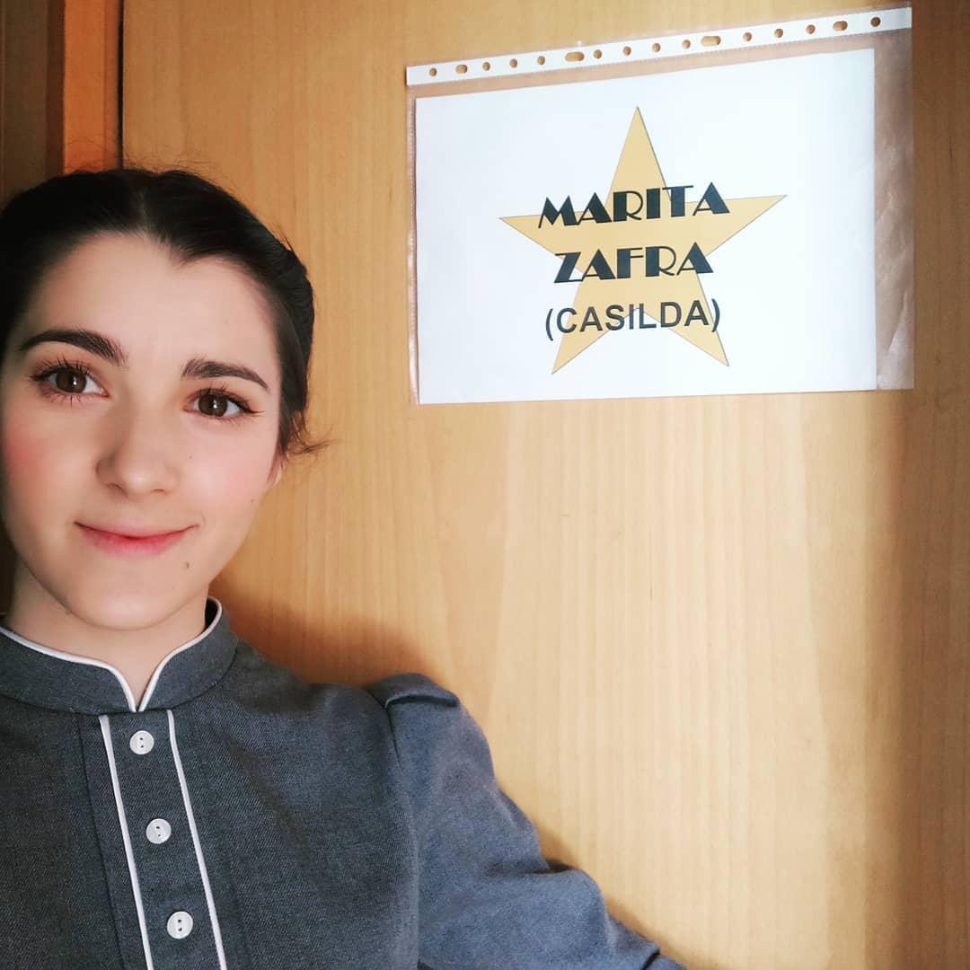 """Marita Zafra è famosa per il ruolo di Casilda Escolano in """"Una vita""""."""