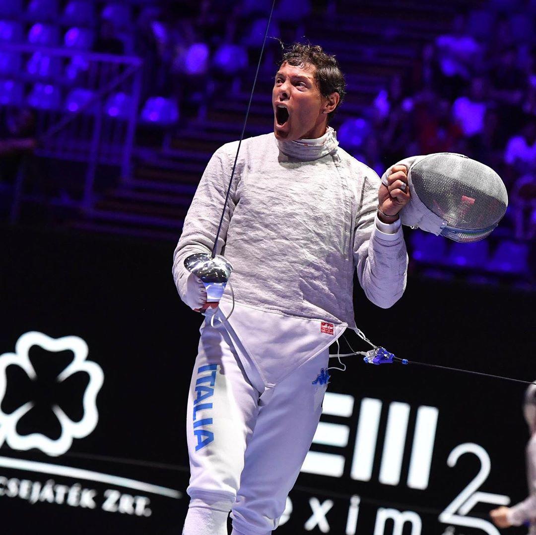 Aldo Montano, schermidore italiano oro olimpico