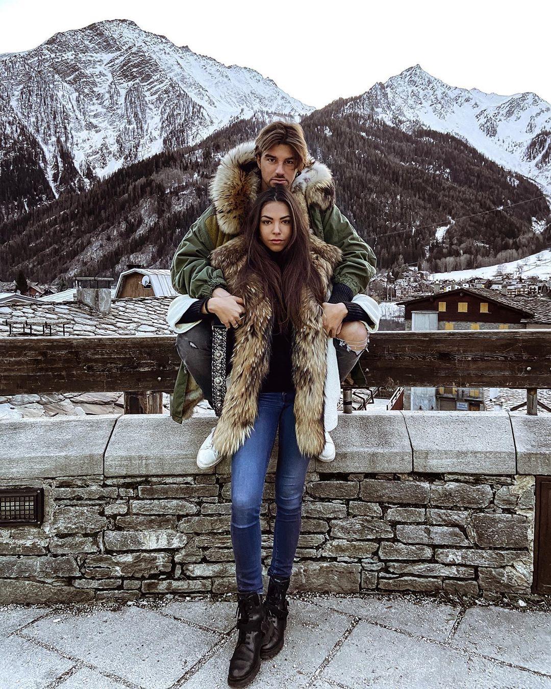 Claudia Coppola e il suo flirt con Andrea Damante