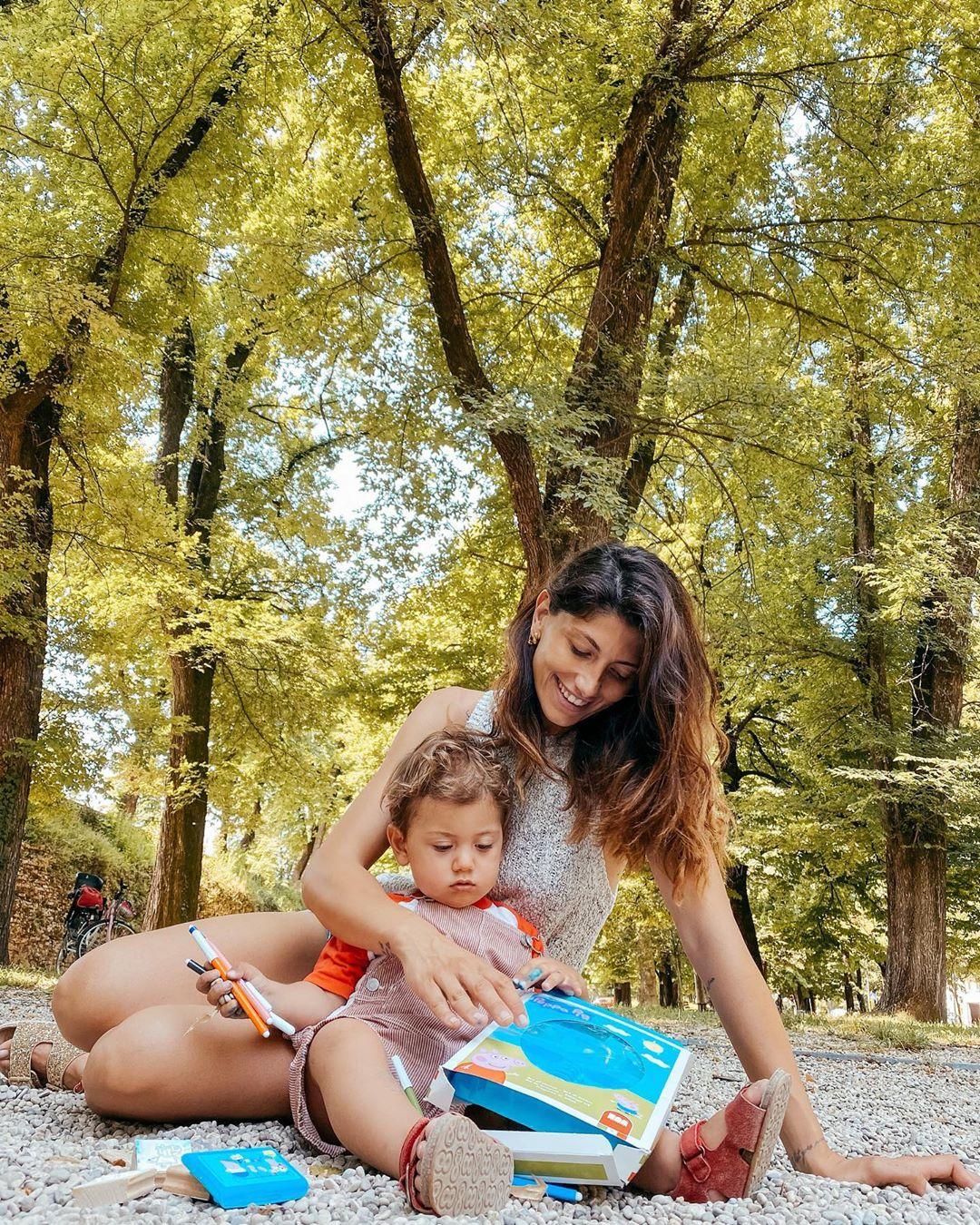 Giorgia Lucini, modella e influencer di Nettuno, oggi fidanzata con il cestista Federico Loschi con cui ha un figlio