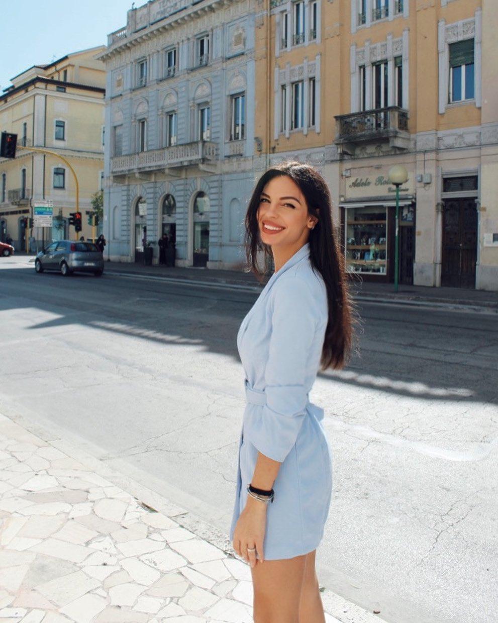 Giulia Belmonte, inviata e conduttrice di Storie e Misteri e Novastadio
