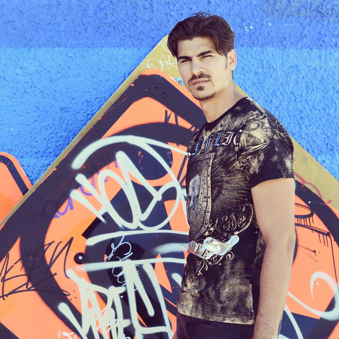 Marco Cucolo, giovanissimo fidanzato di Lory Del Santo, videomaker, modello e influencer