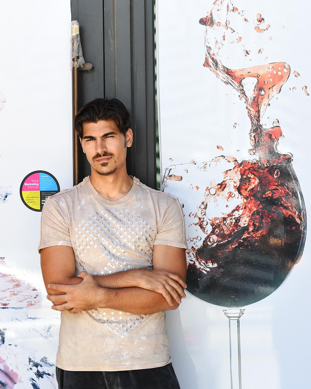 Marco Cucolo, videomaker e modello, diventato famoso grazie alla relazione con Lory Del Santo