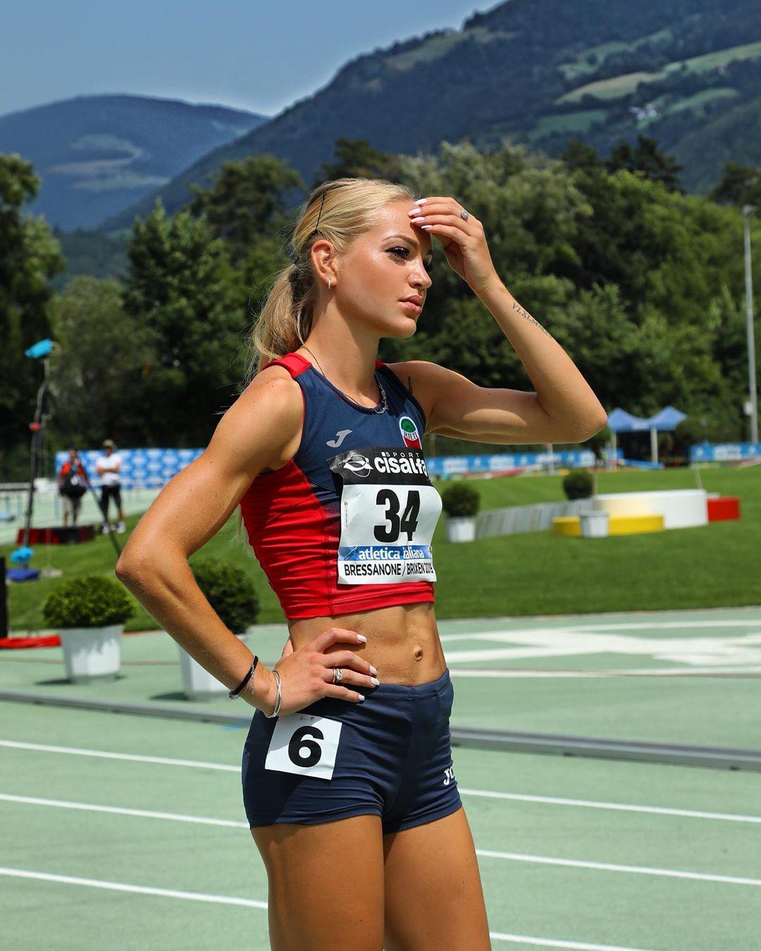 Olga Plachina, campionessa nella corsa 400 metri