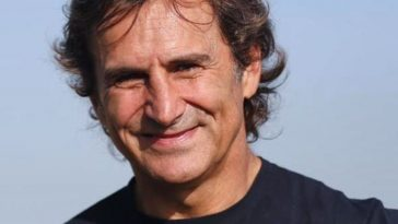 Alex Zanardi in uno scatto recente