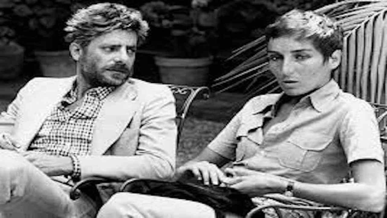 Giancarlo Giannini e Livia Giampalmo
