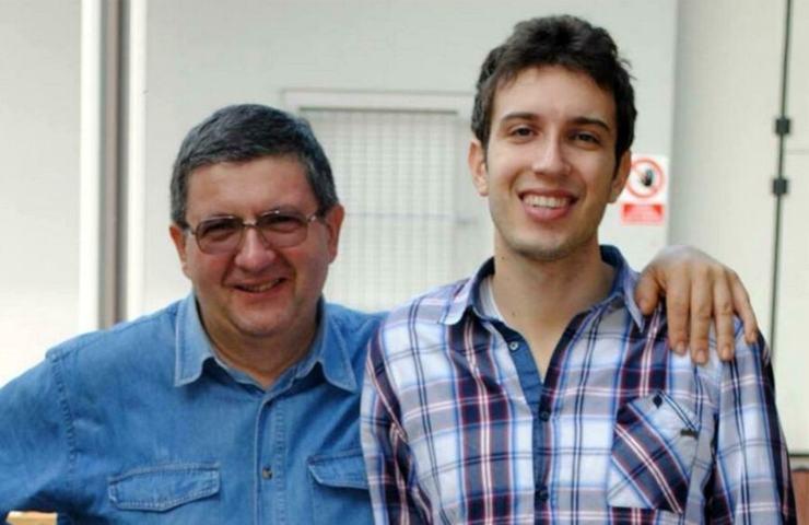 Marco Eletti con il papà Paolo