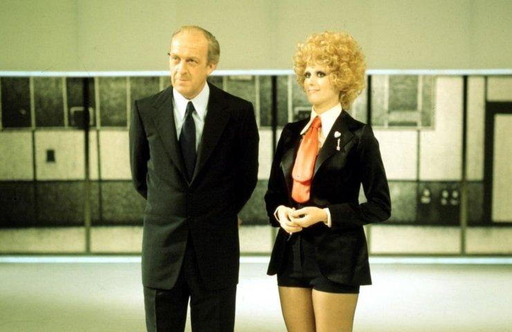 Minnie Minoprio con Raimondo Vianello