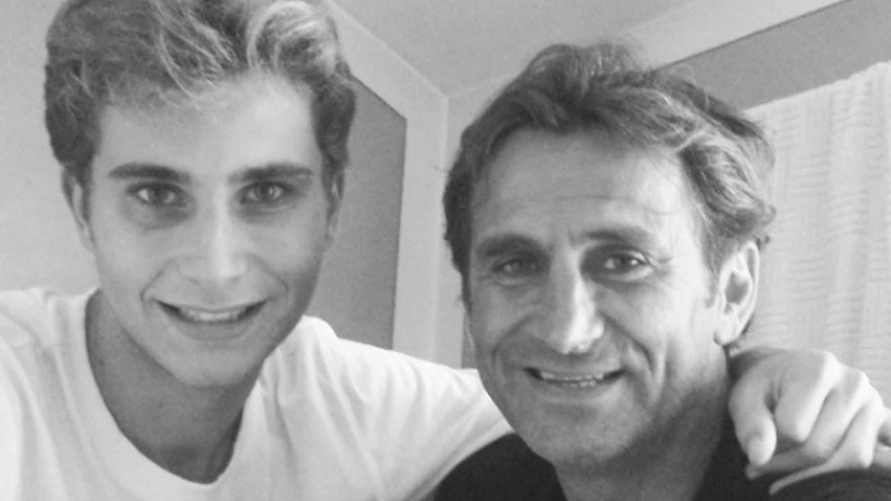 alex zanardi e figlio