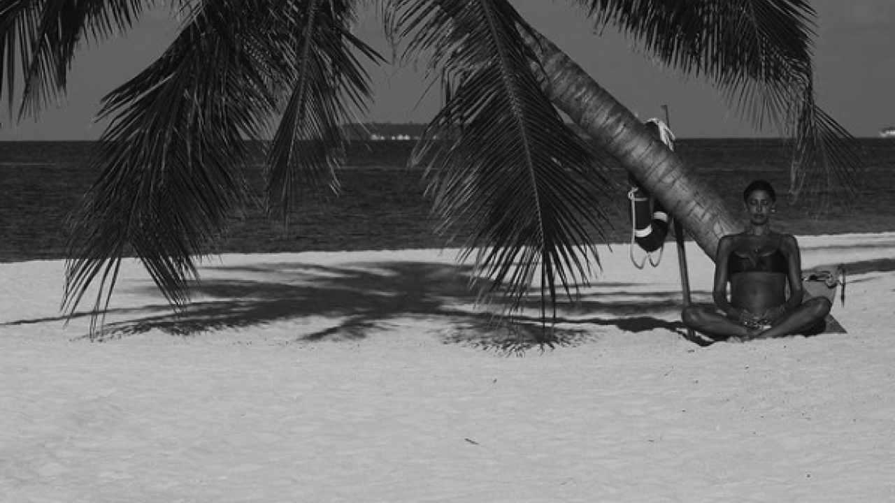 Belen Rodriguez Maldive pancione