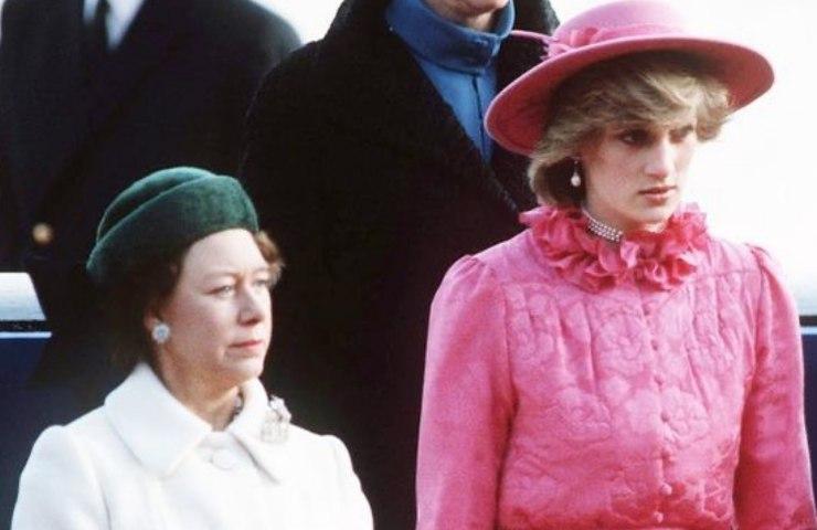Lady Diana e la regina Elisabetta
