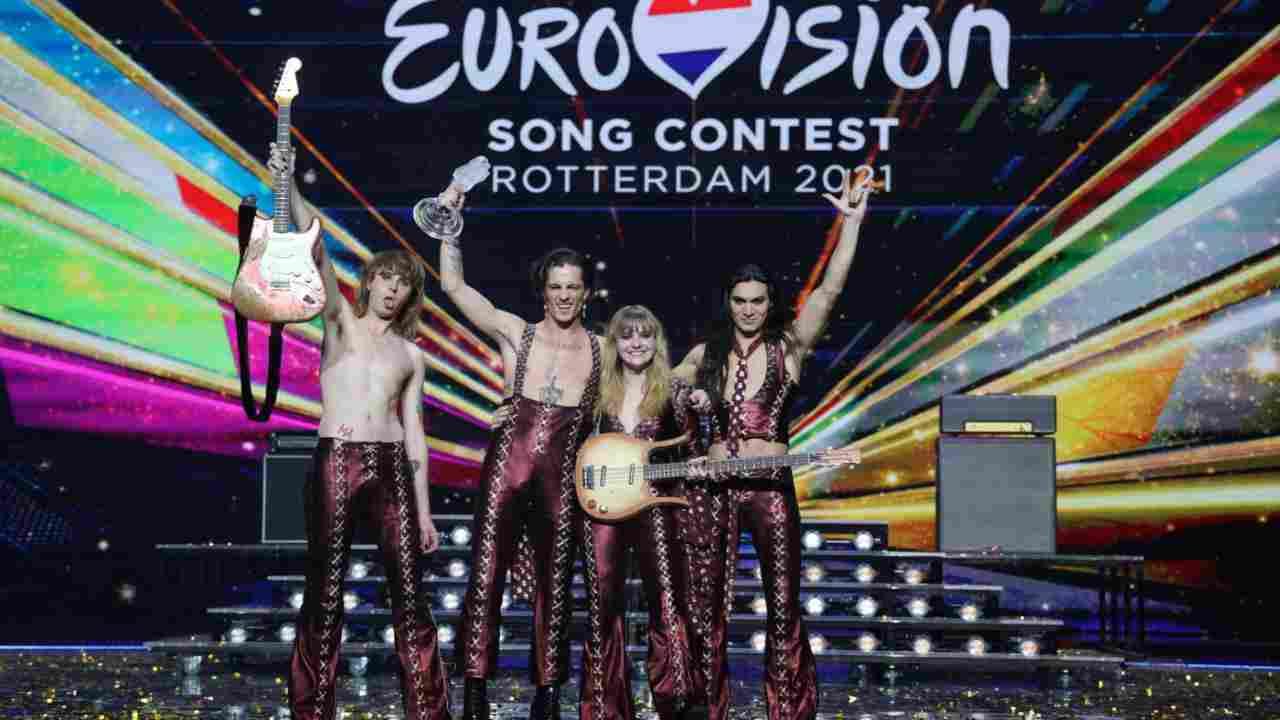 Maneskin vincitori all'Eurovision 2021