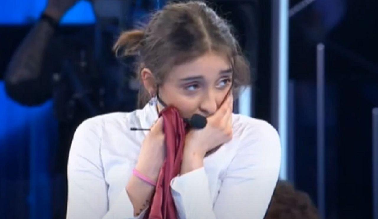 Giulia finale Amici