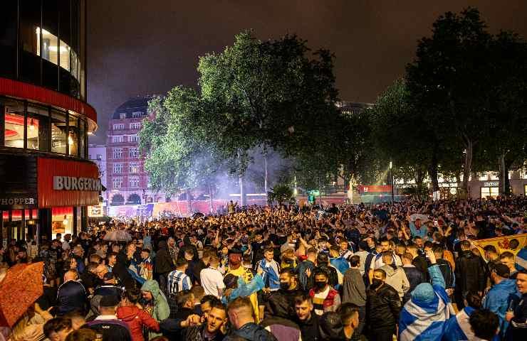 Euro 2020 duemila tifosi scozzesi positivi