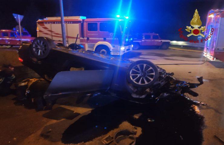 Incidente stradale a Chieri