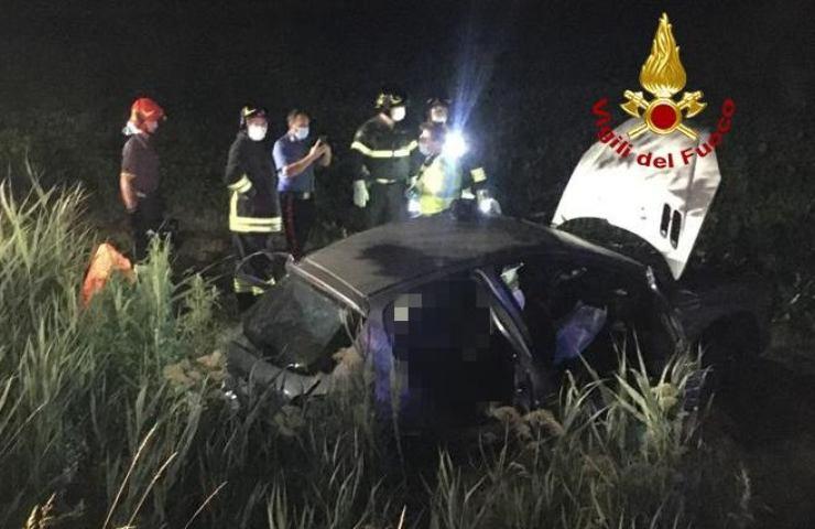 Incidente stradale a Talmassons