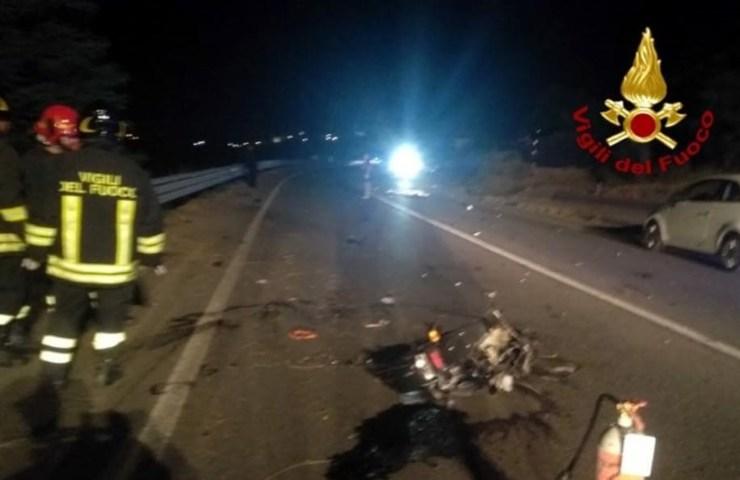 Incidente stradale con un 18enne morto