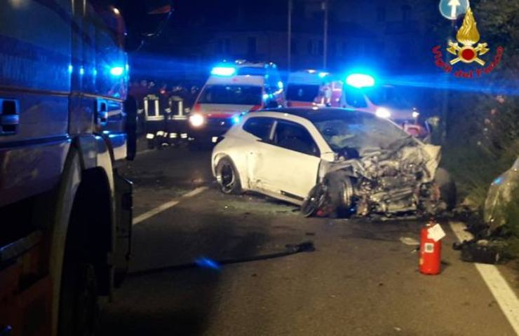 Incidente stradale in provincia di Udine