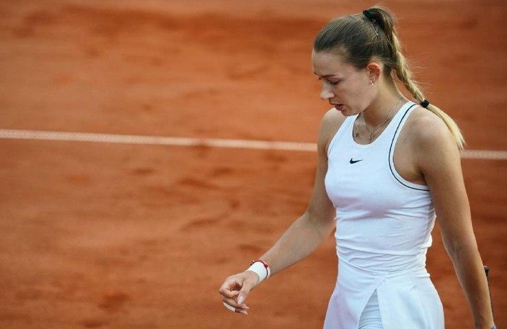La tennista arrestata Yana Sizikova