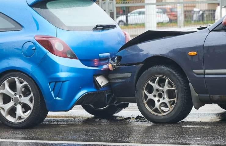 Rissa dopo incidente