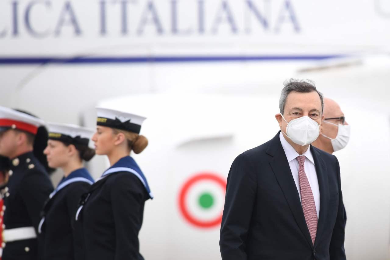 Draghi mascherine