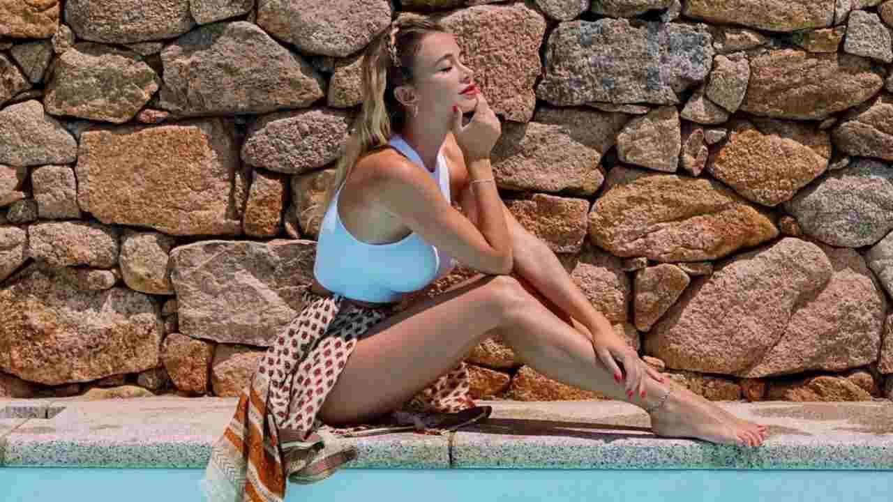 Diletta Leotta in vacanza