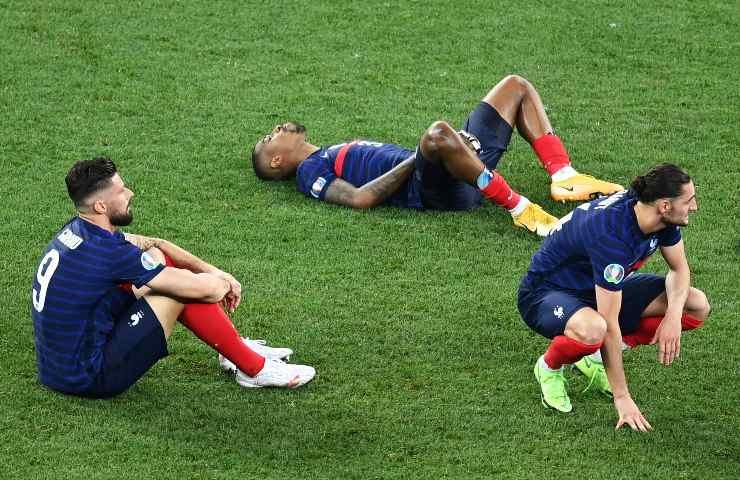 Francia eliminata ad Euro 2020