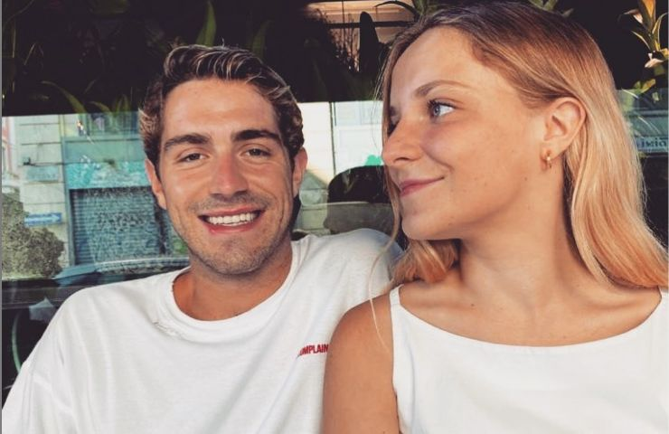 Gaia Zorzi con suo fratello Tommaso