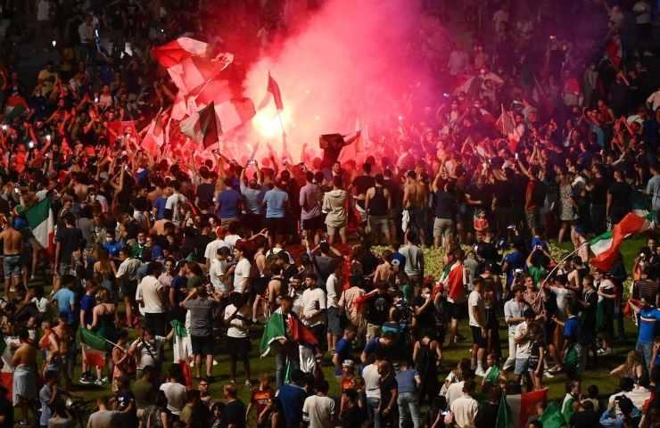Italia Inghilterra ucciso durante la festa