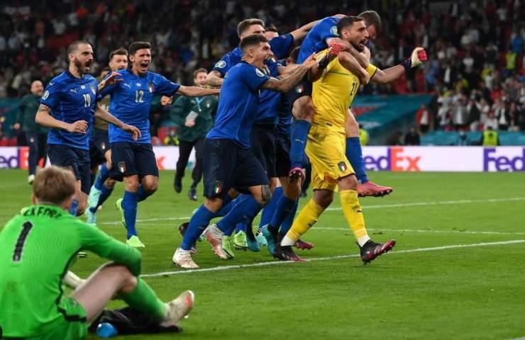 Italia vittoriosa in finale ad Euro 2020