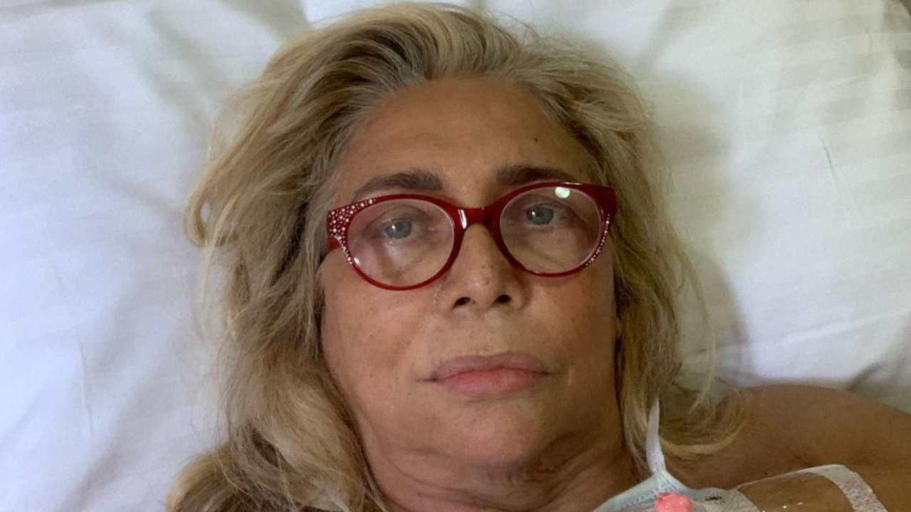Mara Venier in ospedale