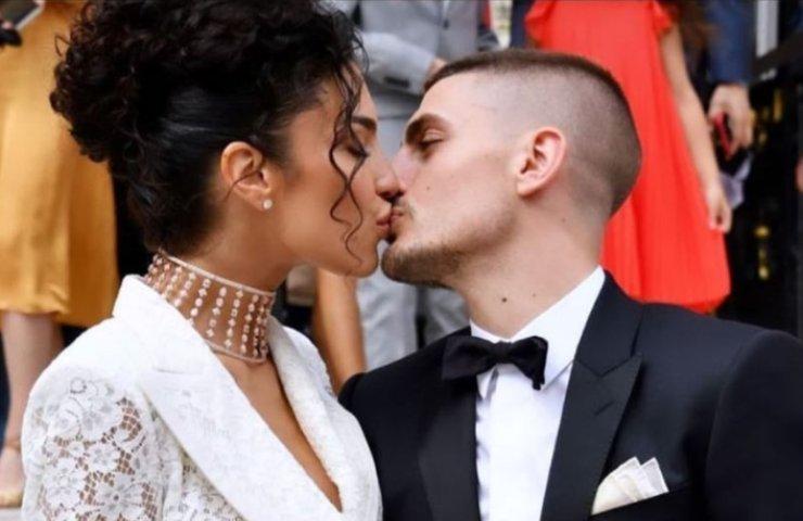 Marco Verratti e Jessica Aidi sposi